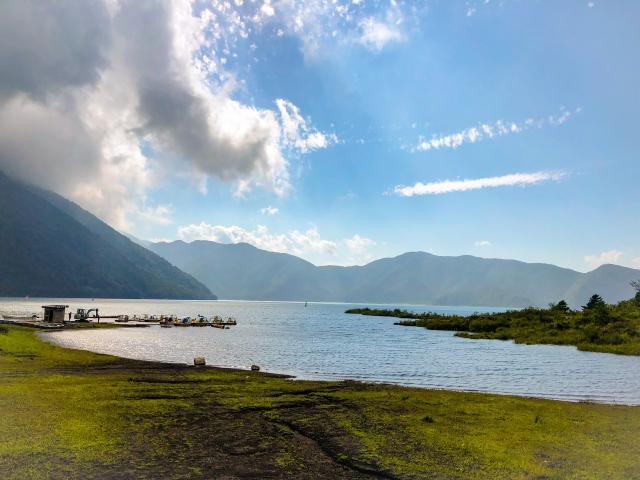 山と湖が創る雰囲気がなんとも絶妙!