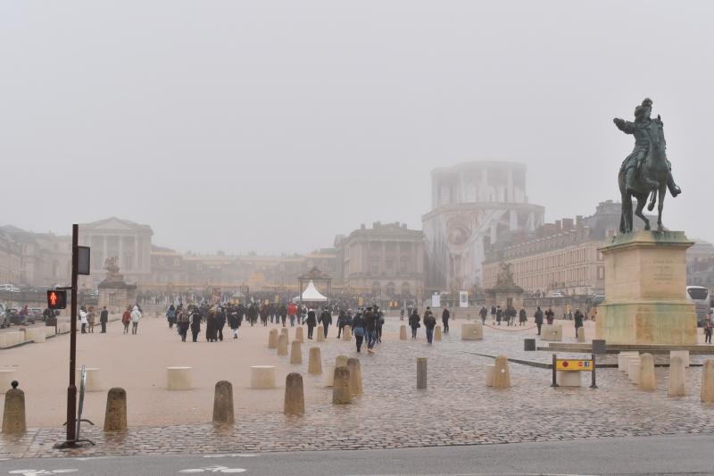 かなり靄がかかった天気でしたが、、これはこれで!