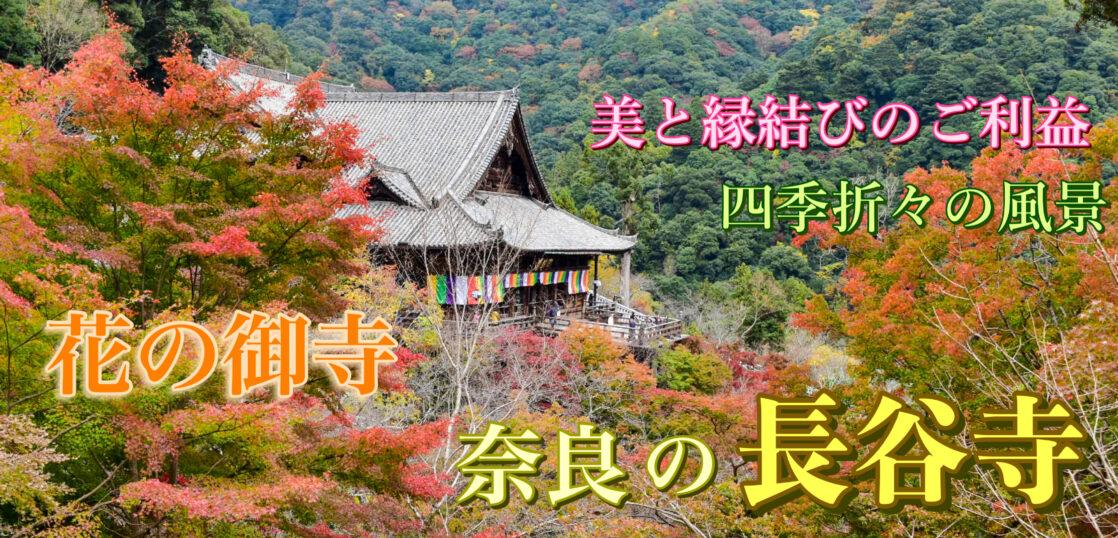 奈良・長谷寺の旅行_観光案内_見どころ・由来・アクセス
