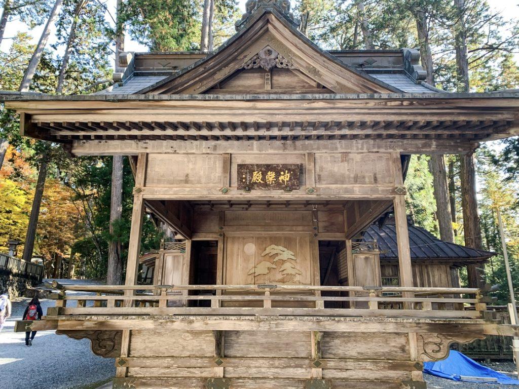 三峯神社_神楽殿