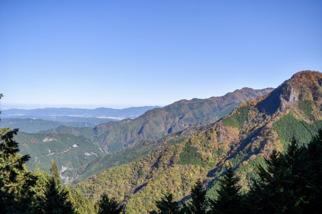 三峯神社_遥拝殿からの風景