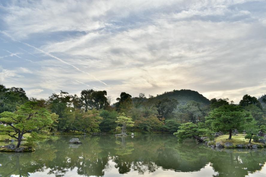 金閣寺の風景