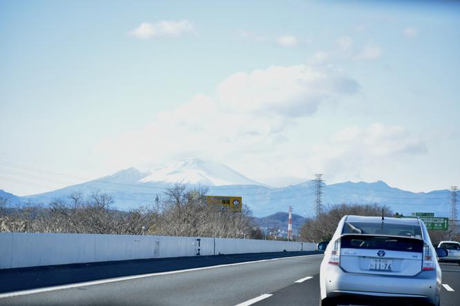 埼玉→草津温泉の車窓_富士山