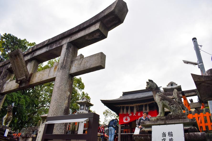 伏見稲荷大社_一ノ峰(上之社神蹟)
