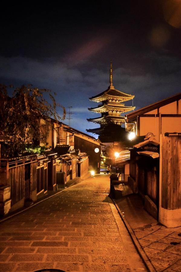 京都・祇園_八坂の塔(法観寺 五重塔)