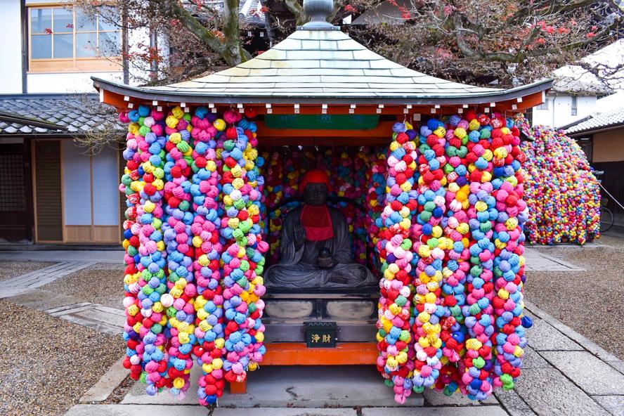 京都・祇園_八坂庚申堂の御堂