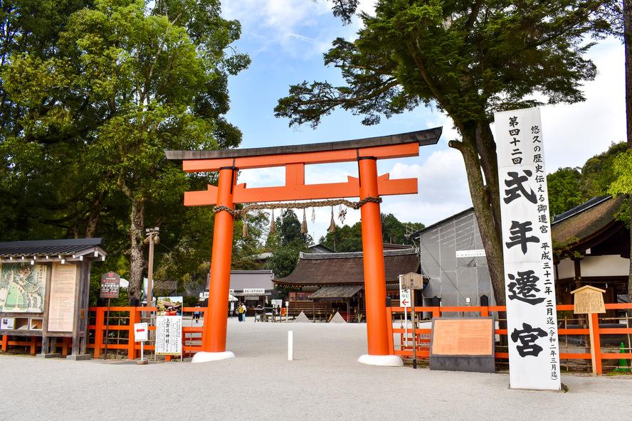 式年遷宮_上賀茂神社・二の鳥居と境内