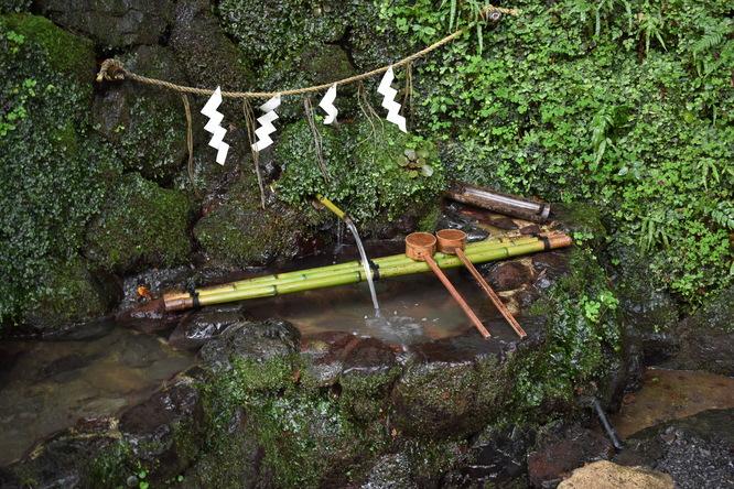 貴船神社_本宮・神泉と神水
