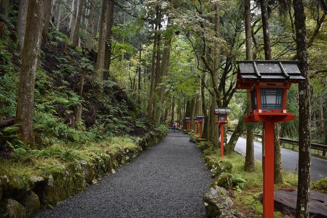 貴船神社_三社詣と奥宮参道