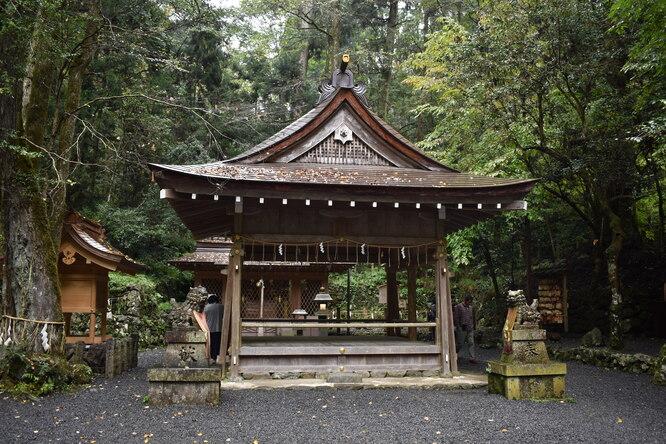 貴船神社の奥宮_本殿