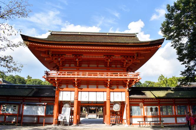 下鴨神社_糺の森と楼門
