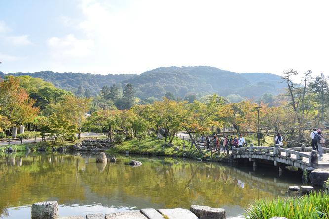 古都・京都の自然_鴨川と円山公園