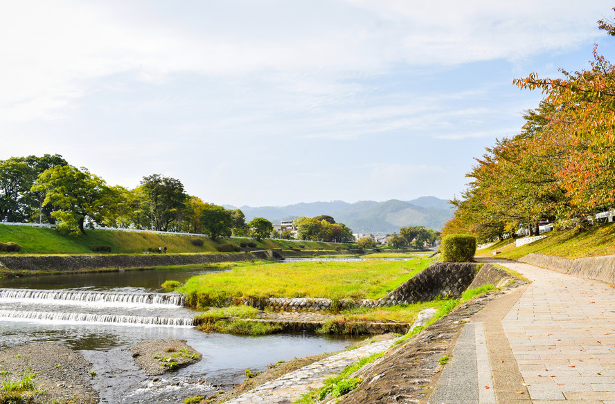 古都・京都の自然_鴨川と賀茂川