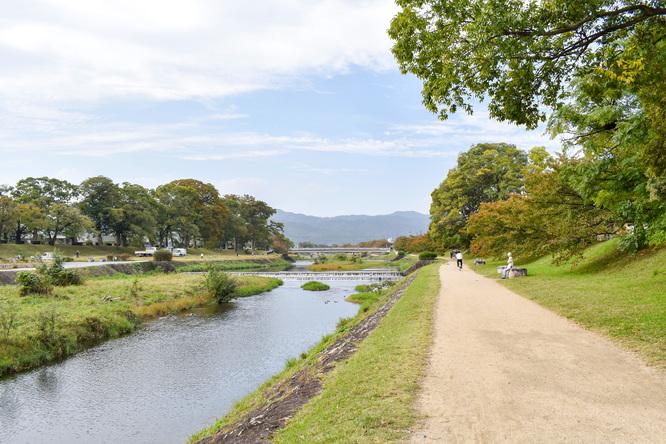 賀茂川サイクリング_古都・京都の自然