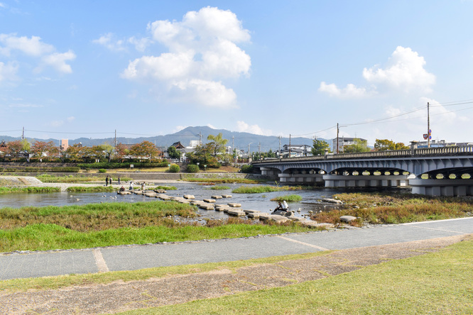 鴨川デルタ_古都・京都の自然