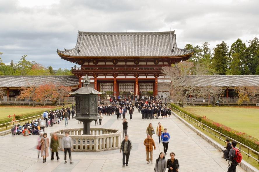 東大寺_大仏殿からの眺め:見どころ紹介と歴史