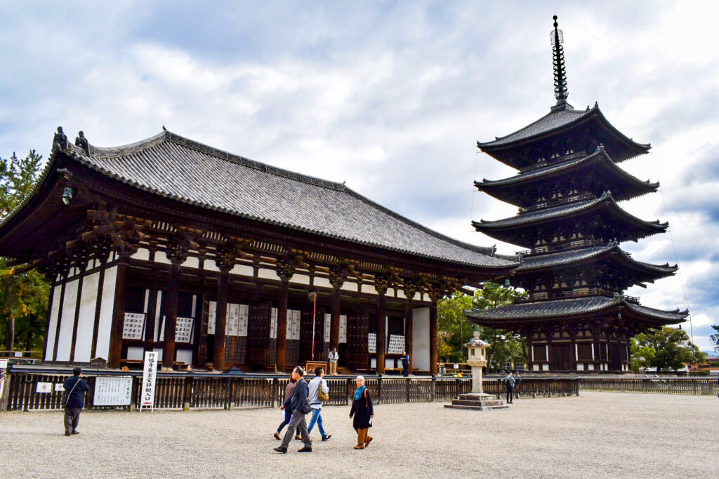 興福寺の歴史_東金堂と五重塔