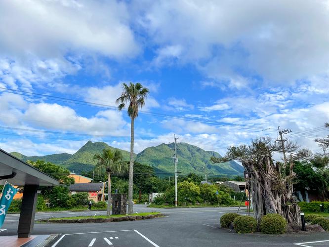 白谷雲水峡へのアクセス_朝の晴わたる屋久島