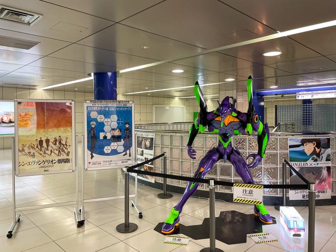 羽田空港とエヴァンゲリヲンコラボ