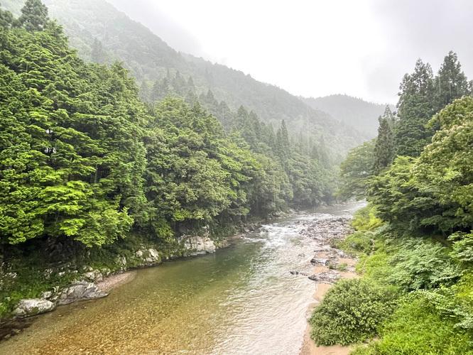 モネの池_名もなき池と山_岐阜の風景