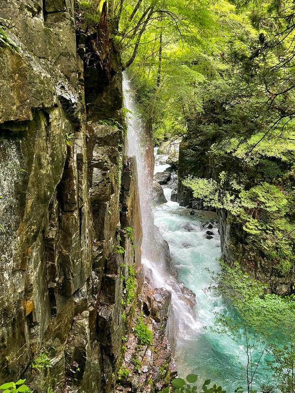 付知峡_観音滝_岐阜の自然観光