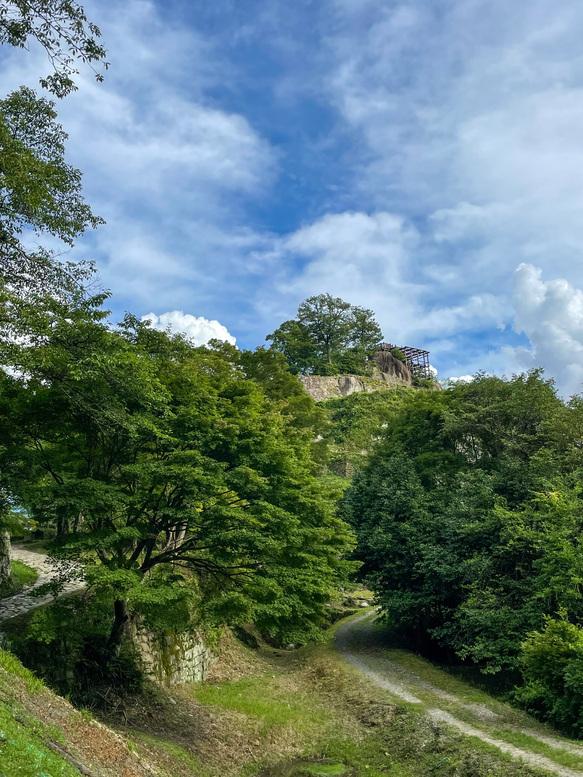苗木城跡_岐阜のラピュタ_自然風景観光