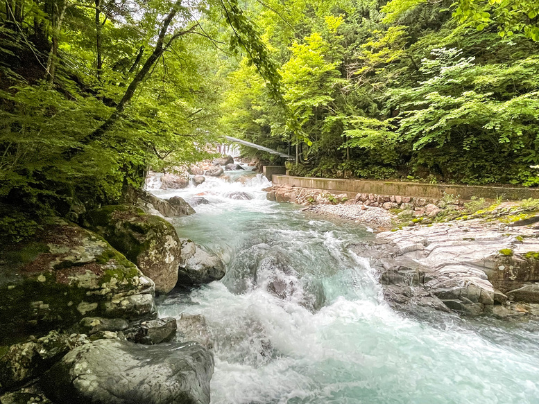 付知峡_岐阜の自然観光_滝と川