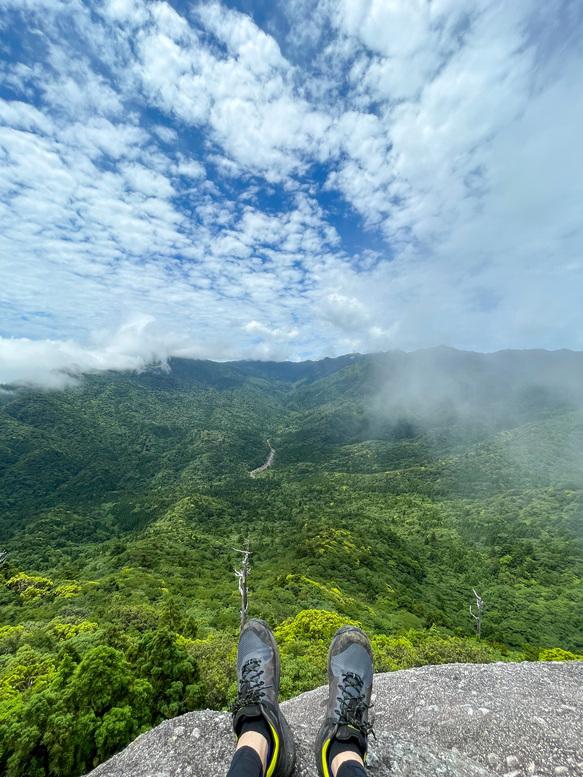 白谷雲水峡_太鼓岩からの風景_屋久島の大自然