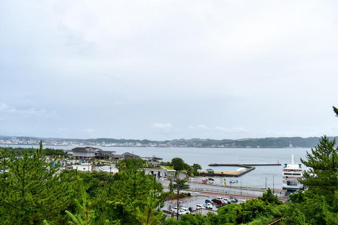 桜島_月読神社からの風景