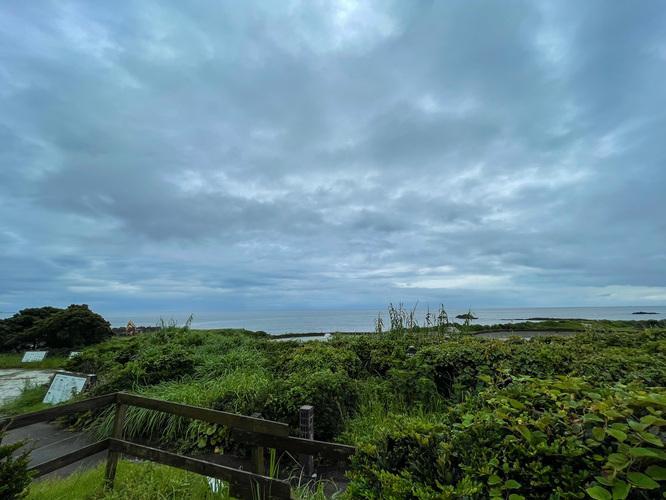 屋久島の海の風景