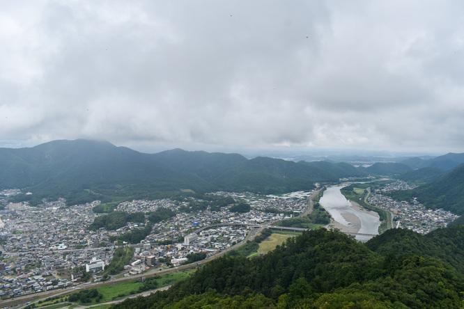 岐阜城_天守閣からの風景