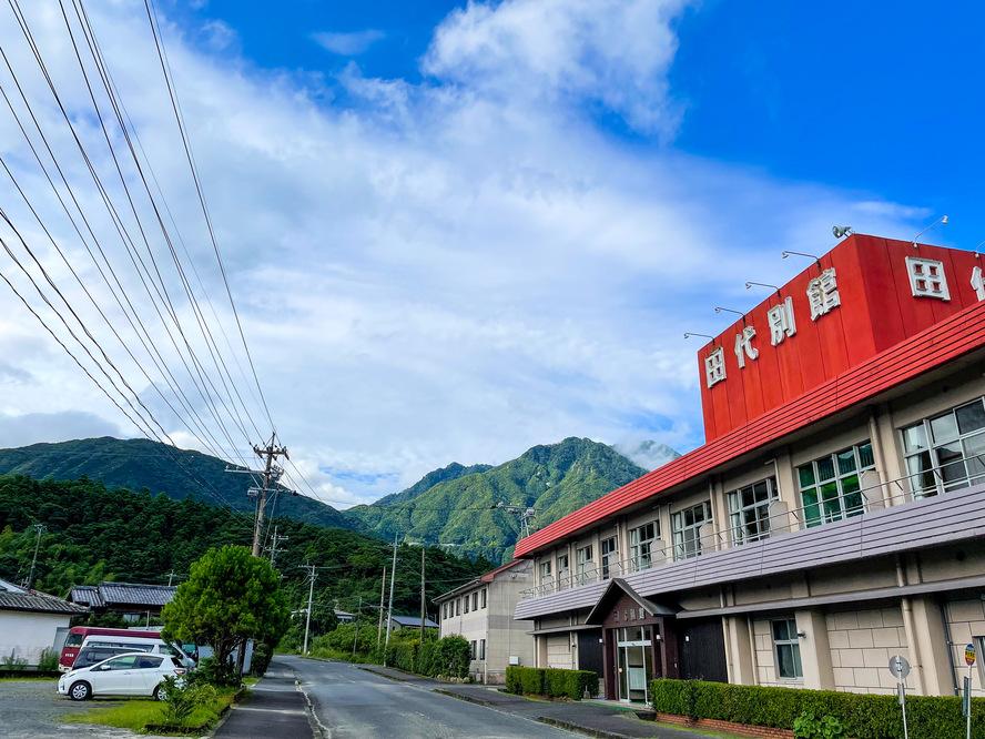 白谷雲水峡へのアクセス_路線バス_小原町