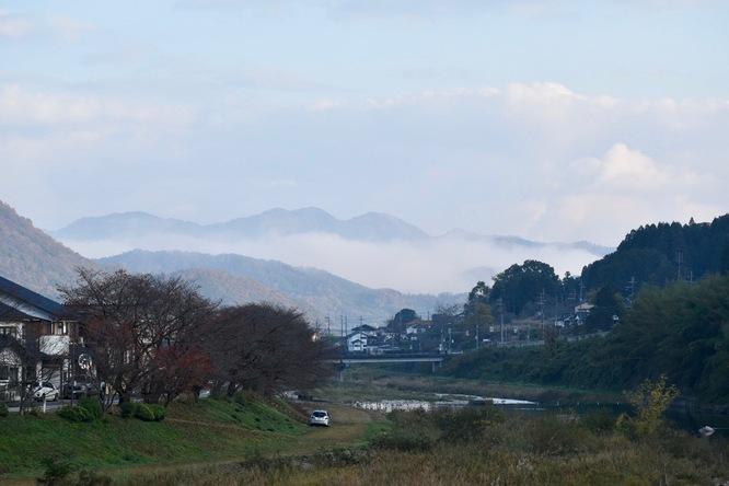 立雲峡から竹田城跡へ_街から雲海