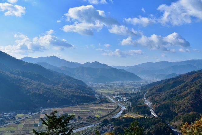 竹田城跡の見どころ_南千畳からの風景