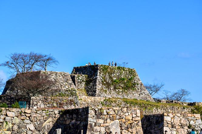 竹田城跡の見どころ_南千畳_天空の城