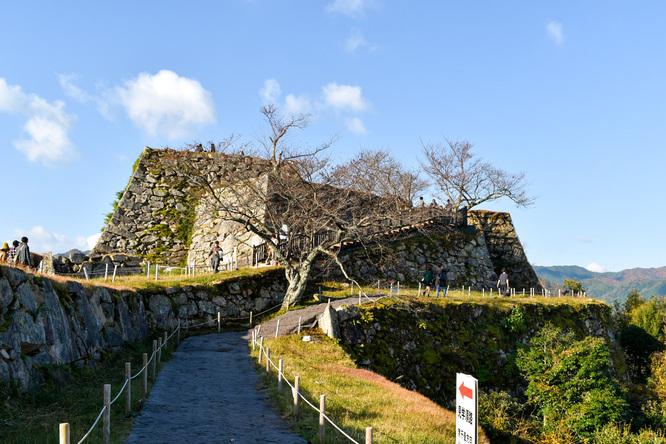 竹田城跡の見どころ_天空の城ラピュタ