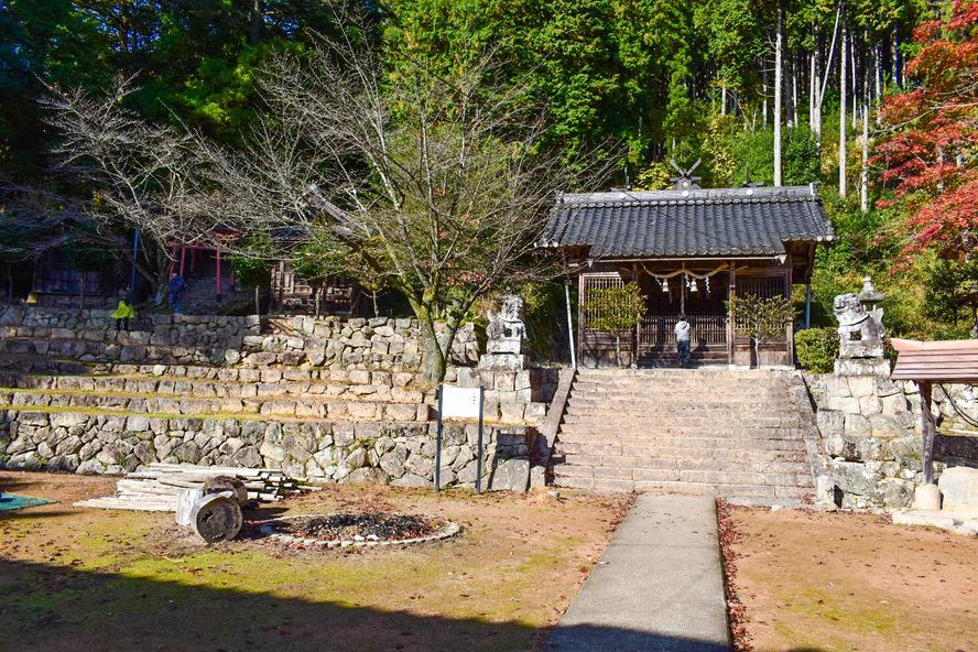 竹田城跡の見どころ_表米神社