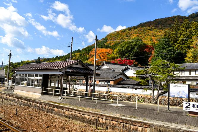 竹田城跡_駅と紅葉_見どころ