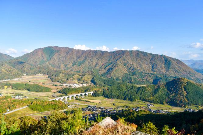 竹田城跡_見どころ_パノラマビューと街並み_橋と但馬の山々